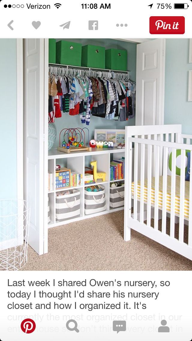 Nursery Organization Closet Organization Organize The Nursery Organized Baby  Closet