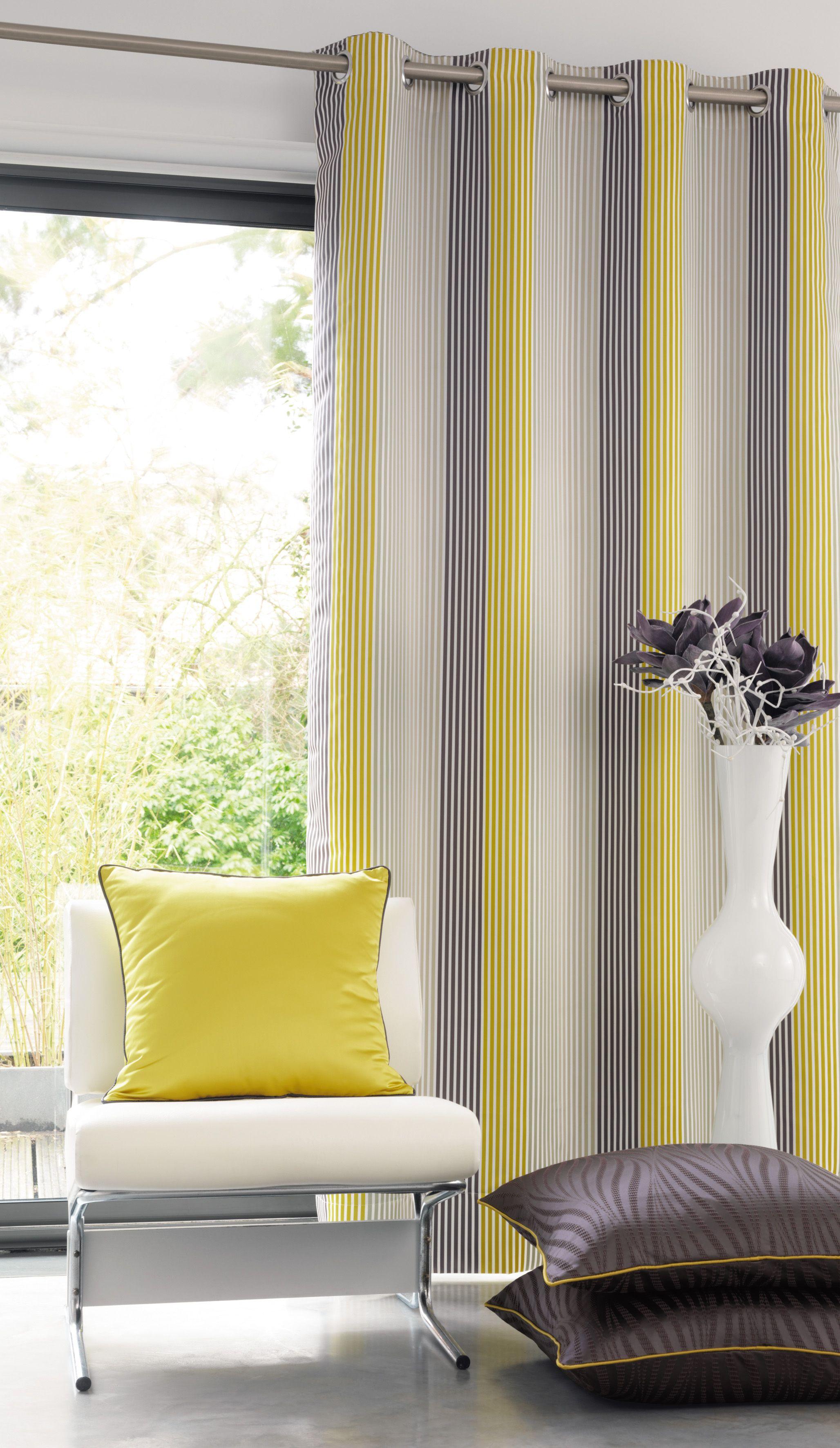 rideau jaune et gris zakelijksportnetwerkoost. Black Bedroom Furniture Sets. Home Design Ideas