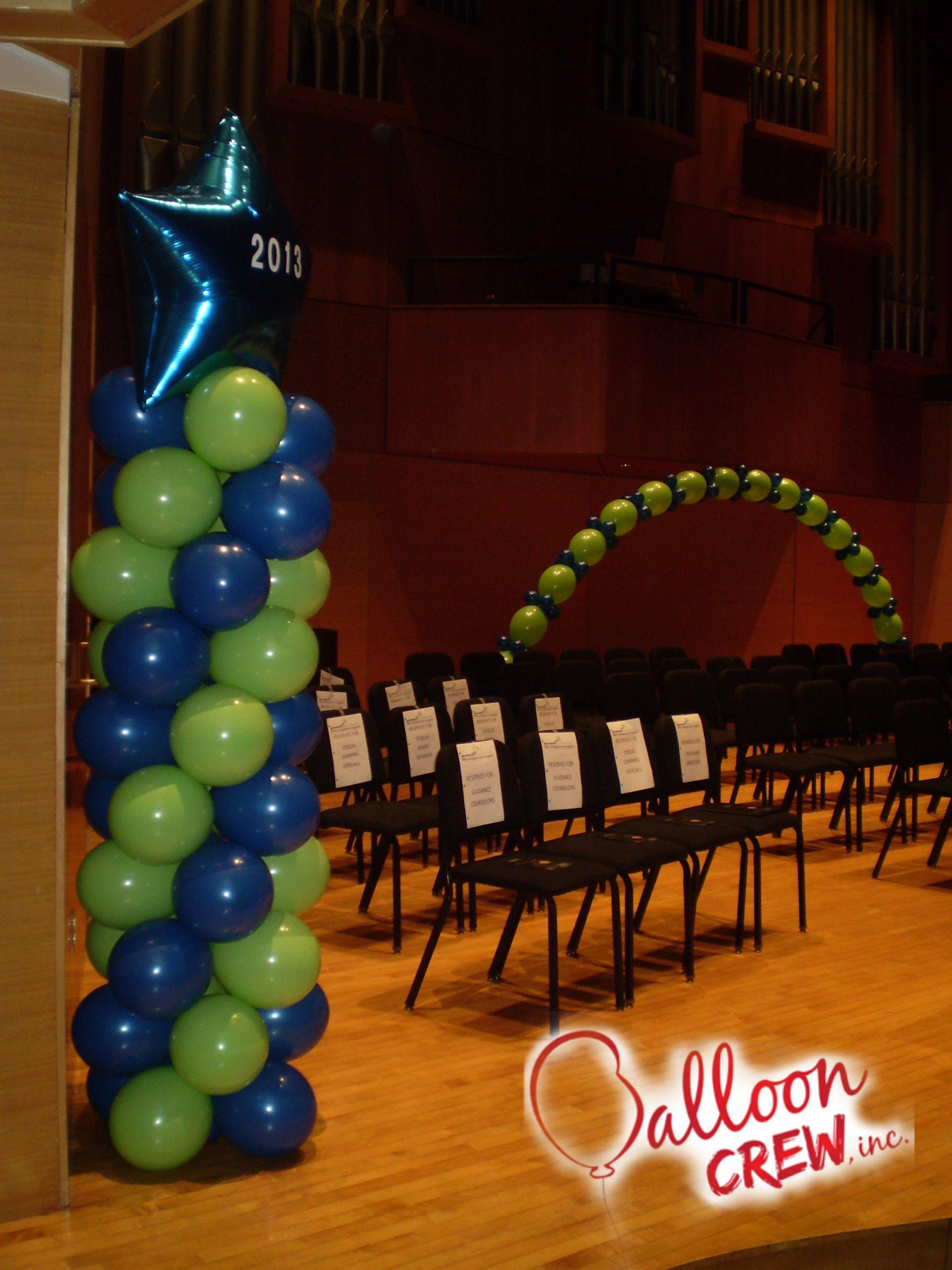 Cleveland State University Columns Ballooncolumns Decor