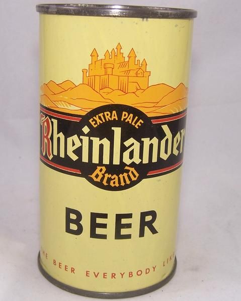 Rheinlander Brand Beer, Lilek #737, Grade 1/1+ – Beer Cans Plus