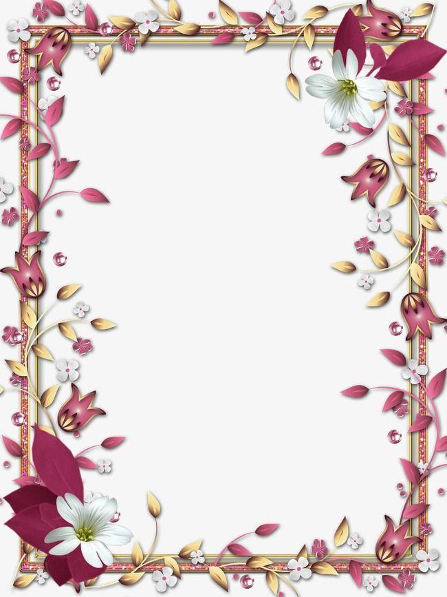 Borde del marco,El sombreado de las fronteras,Flores,Frame | Bordes ...