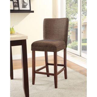 Homepop Upholstered Parson Barstool By Homepop Bar Stool