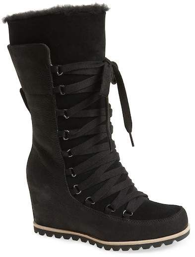 6a197140d77 UGG(R) Mason Waterproof Wedge Boot (Women) | Products | Boots, Wedge ...