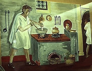 How to make ancient Roman Bread using 2600 years old