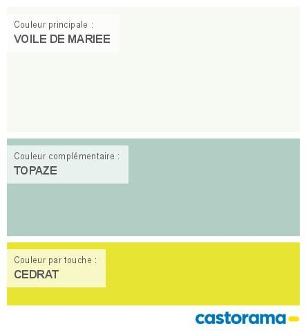 Castorama Nuancier Peinture - Mon harmonie Peinture VOILE DE MARIEE - peinture satin ou mat