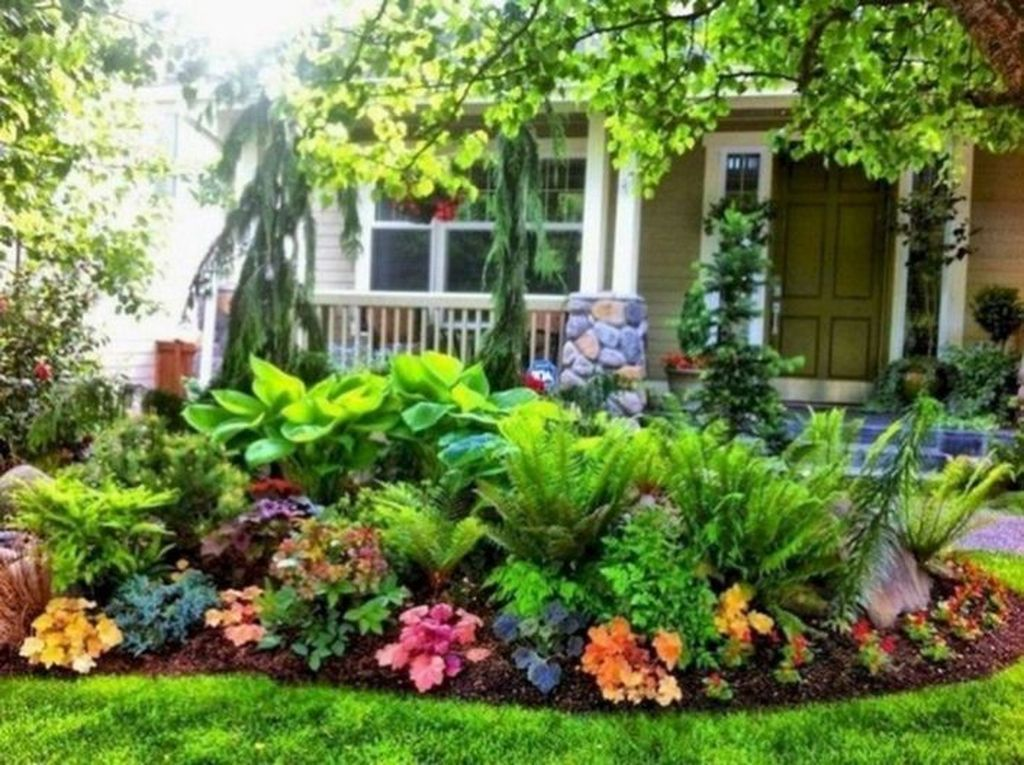 Impressive Front Yard Landscaping Ideas With Beautiful Flowers 29 Small Front Yard Landscaping Cheap Landscaping Ideas Front Yard Flowers