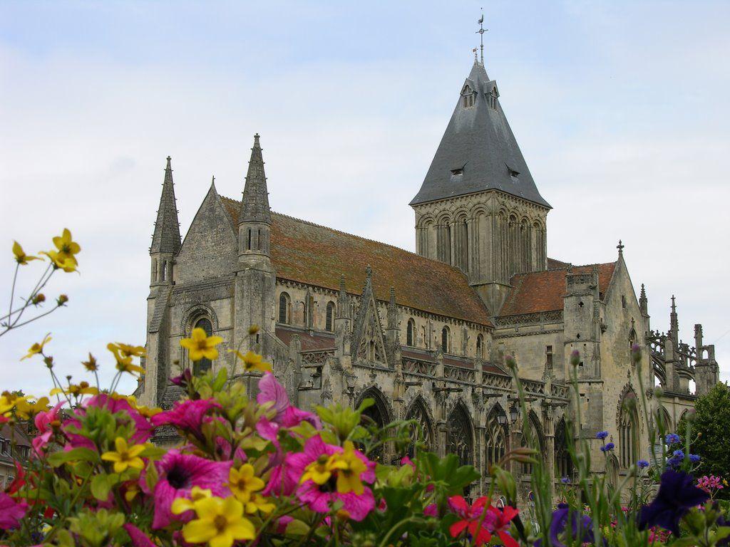 Falaise : l'église St-Gervais. Basse-Normandie