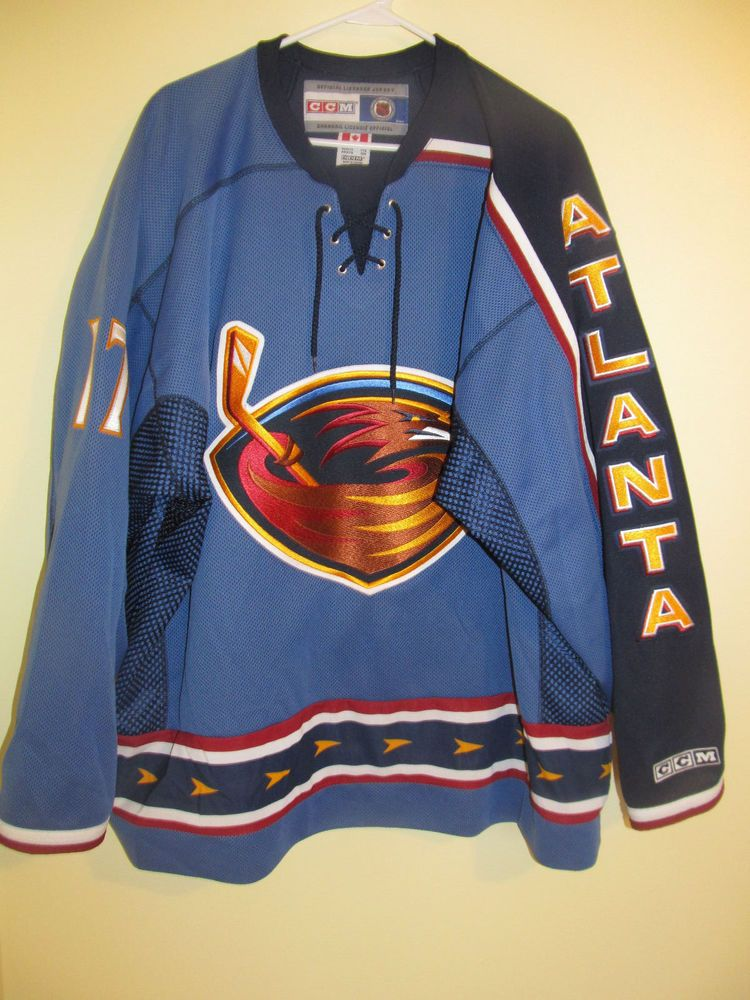 b0a182ed74b ... nhl hockey jersey blue size xxl c482c 306b8; shop ilya kovalchuk 17  atlanta thrashers jersey ccm xx large bf29e a5a30