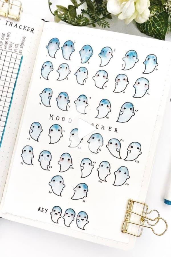 20+ Best October Mood Tracker Ideas For 2020 - Crazy Laura