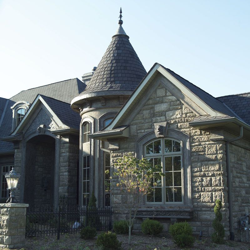Hildesheim Manor Luxury Home Victorian House Plans Oregon House Stone Cottage