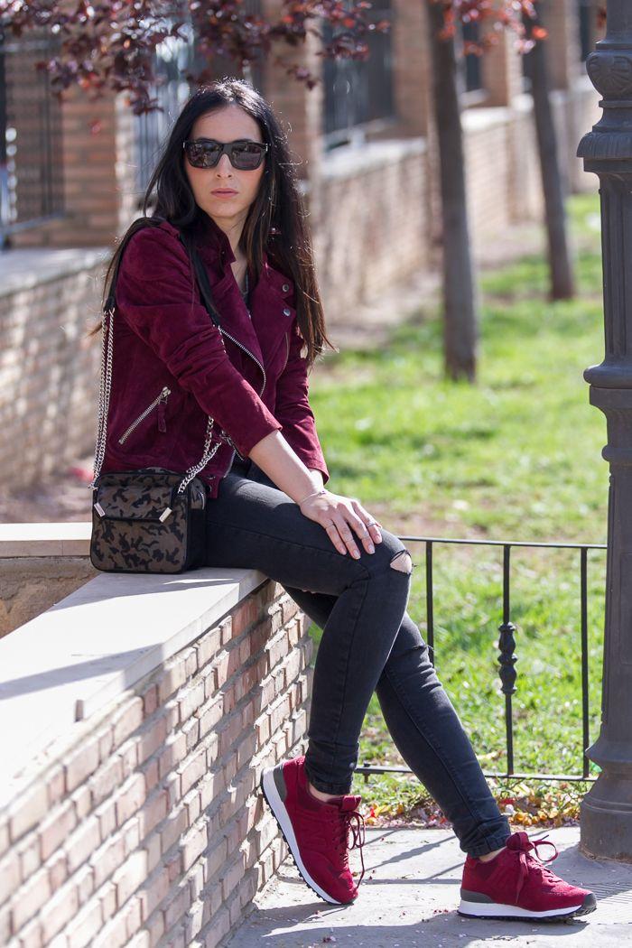 Zapatillas Burgundy Outfits - Buscar Con Google | Outfit Board | Pinterest | Granate Cu00f3modas Y ...