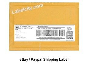 Dymo ebay paypal shipping labels 99019 dymo label for Dymo label templates for word