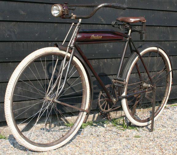 Indian Hendee Bicycle Pretty Cool Vintage Bicycles Bicycle