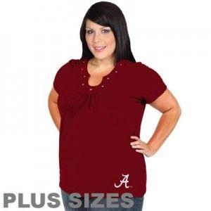 d24b91077aac33fd1ea3d3e716c34fac scoop neck women's plus size alabama crimson tide t shirt sizes,3x Womens Clothing