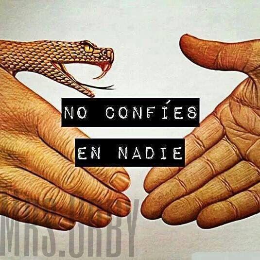 #noconfiesennadie #nientusombra