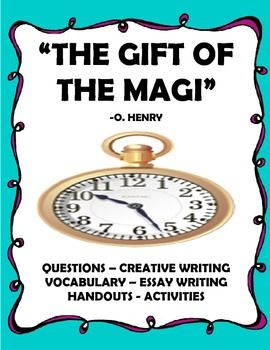 gift of the magi short story unit questions and activities o henry language arts. Black Bedroom Furniture Sets. Home Design Ideas