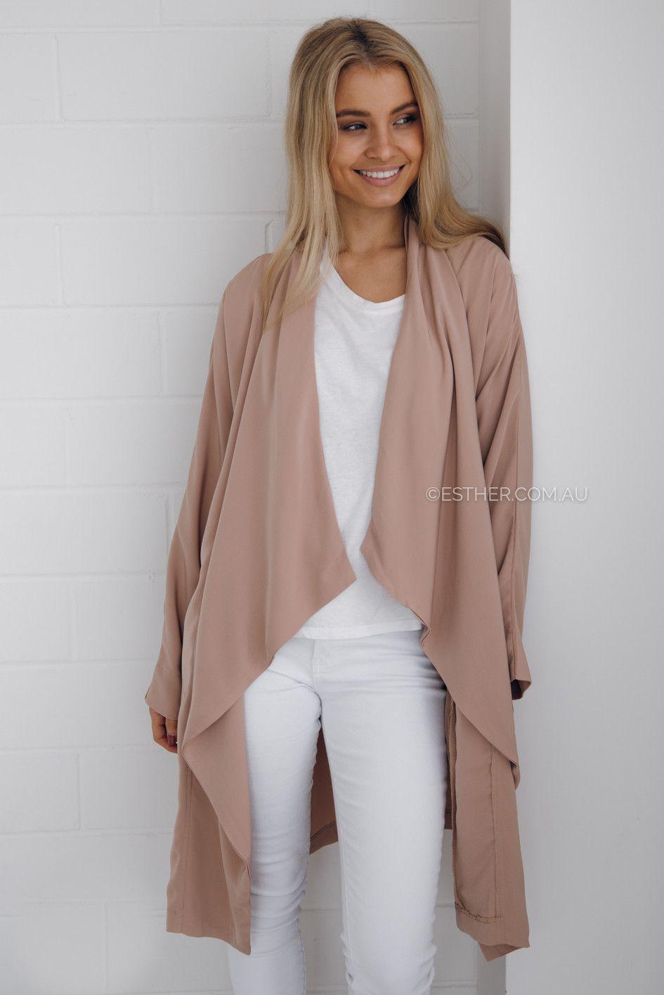 leona waterfall cardigan - blush | Clothes I Like | Pinterest ...