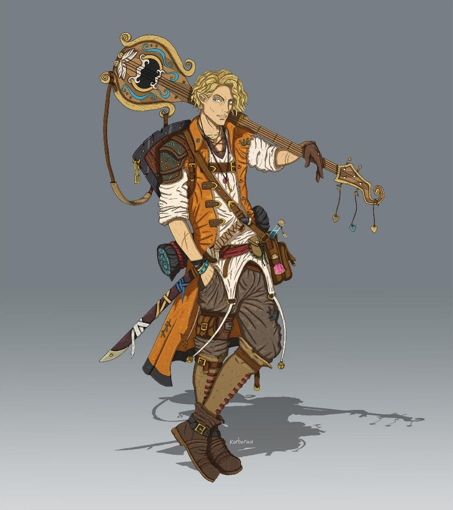 RPG bard i love that vest