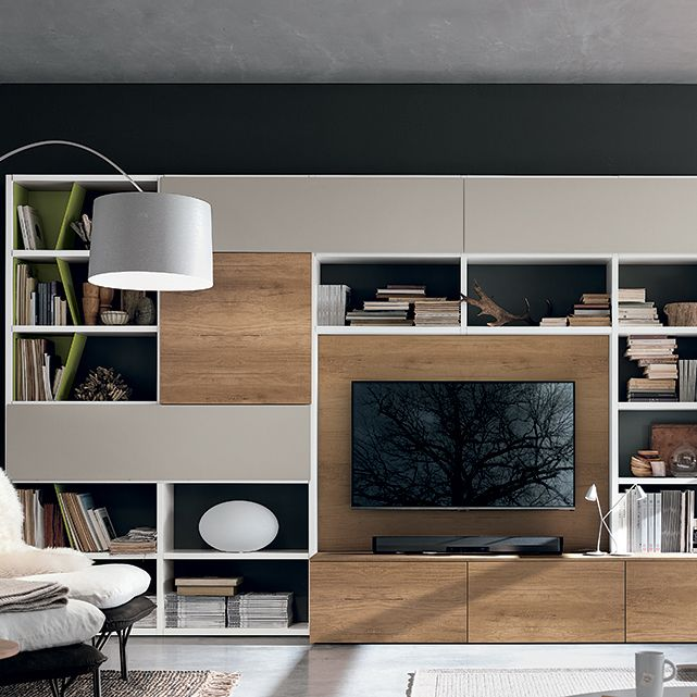Wall Unit Comp. A036, Tomasella Italy In 2020