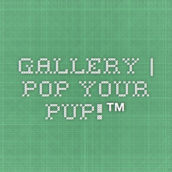 Gallery | Pop Your Pup!™