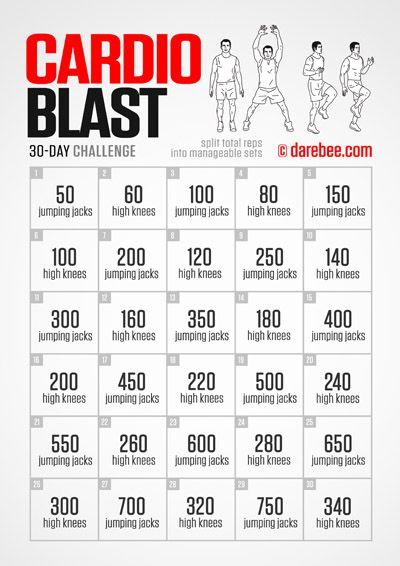 Cardio Blast Challenge Fitness