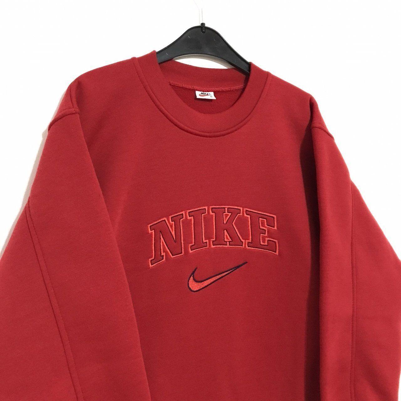 Vintage Nike Sweatshirt Size M Great Condition To Pit To To Depop Vintagecrewnecksweatshirt Sweaterhoo In 2020 Vintage Nike Sweatshirt Vintage Hoodies Retro Outfits [ 1280 x 1280 Pixel ]