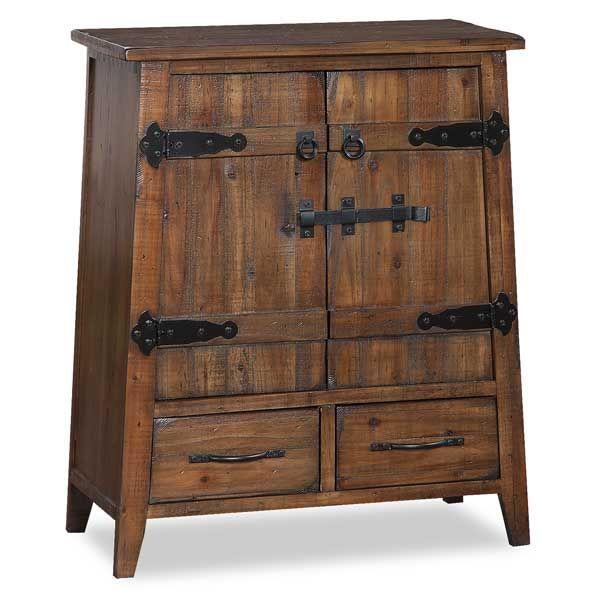 Rustic Cabinet Doors 2 door/2 drawer rustic cabinet 1a-121295 | island style