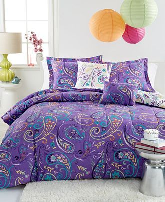 Bethany 4 Piece Reversible Twin Comforter Set Bed In A Bag Bed Bath Macy S Moveis Rusticos Moveis