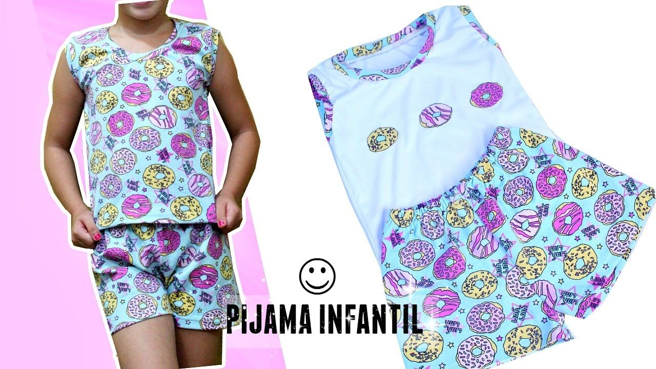7afae64c7598 DIY PIJAMA INFANTIL FÁCIL