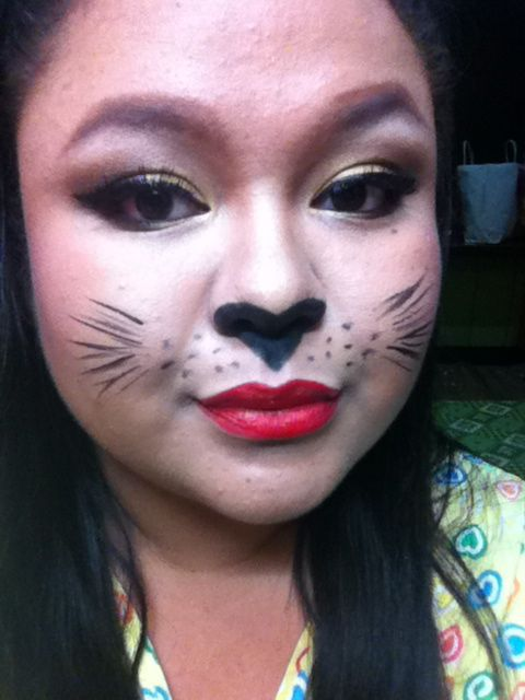halloween face makeup ideas | Halloween Cat Face Makeup ...