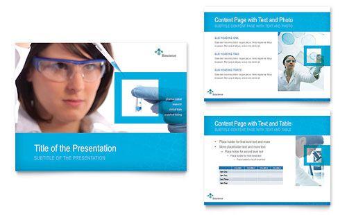 Science \ Chemistry PowerPoint Presentation - Microsoft PowerPoint - science powerpoint template