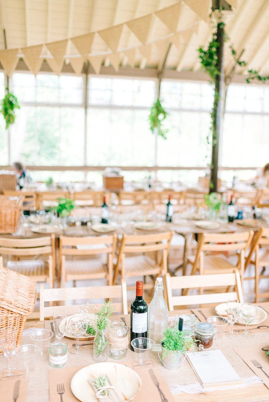 greenery wedding at winter gardens with white boho bridesmaids