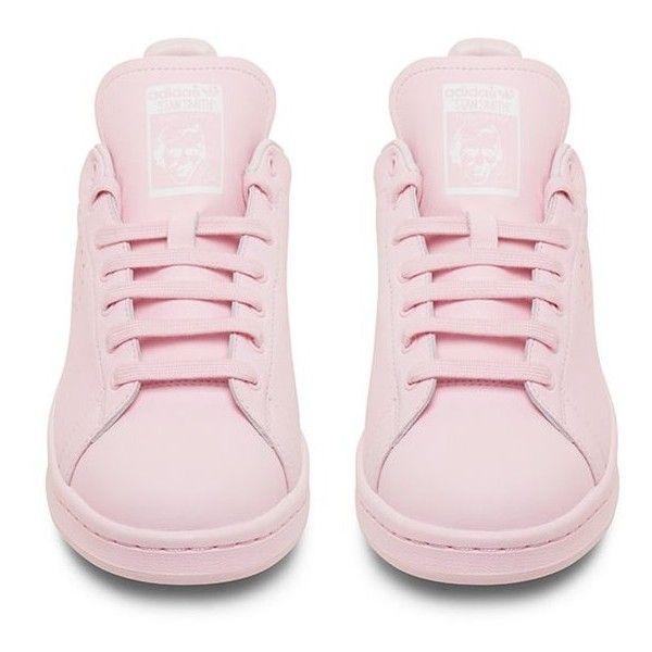 adidas stan smith raf simons rose pale