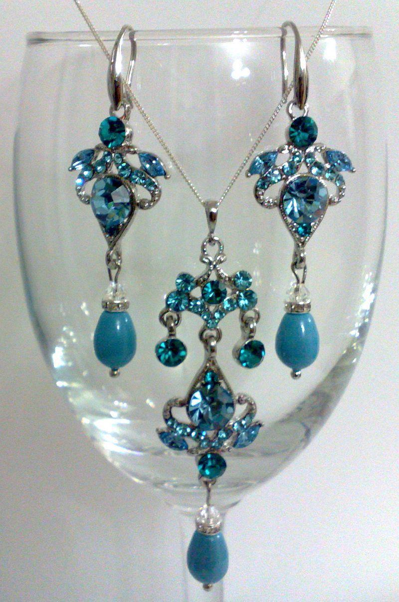 Teal wedding Keywords tealweddings tealweddingjewelry