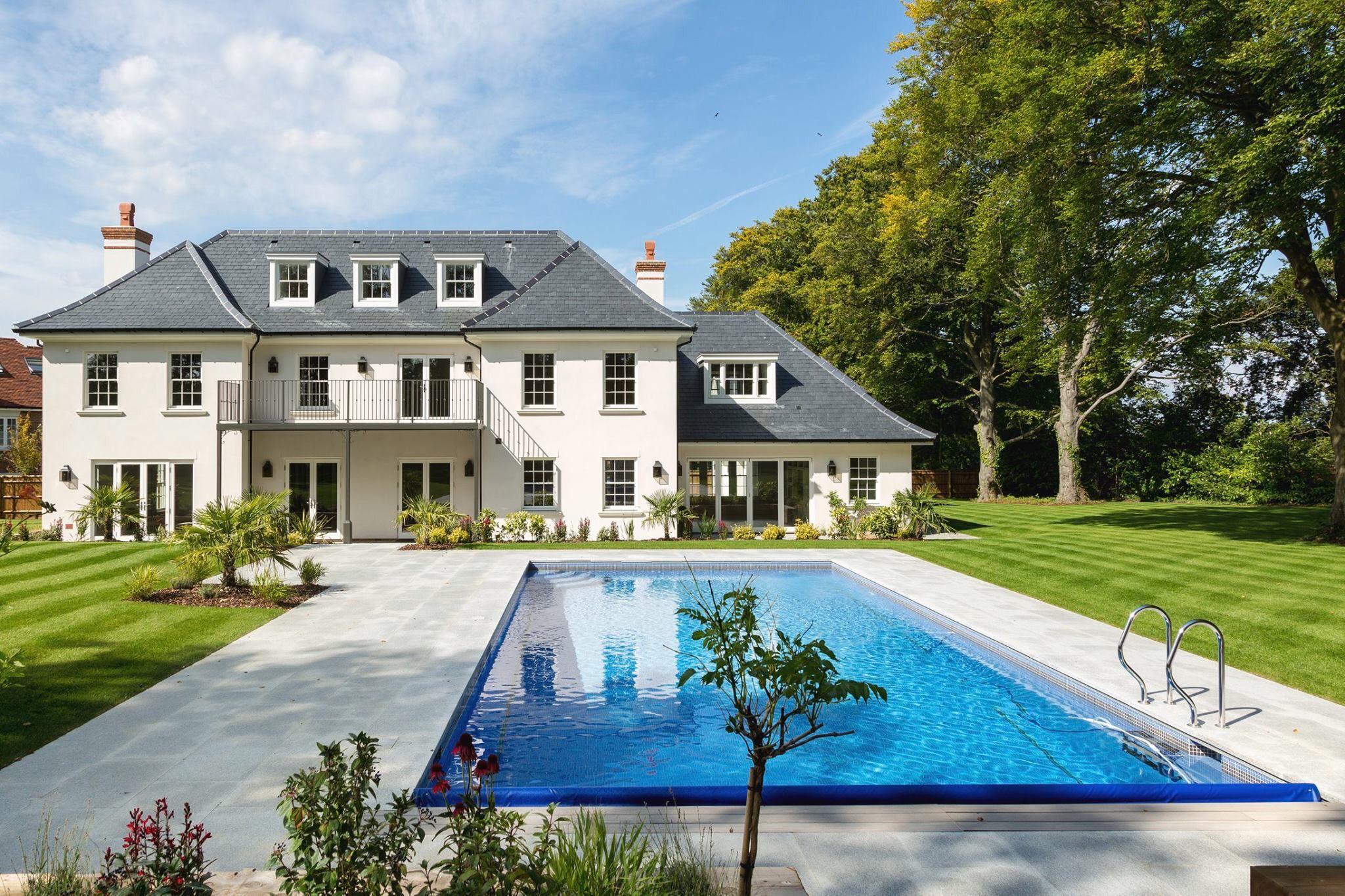 Ashtead Surrey House Designs Exterior Architectural Inspiration Georgian Style Homes
