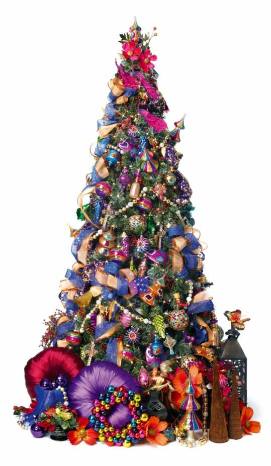 Moroccan Medley Christmas Tree Merry Bright Christmas Christmas Decorations Christmas