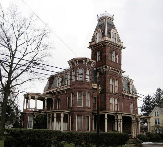 Victorian Mansion Is Situated Near Lancaster, Pennsylvania