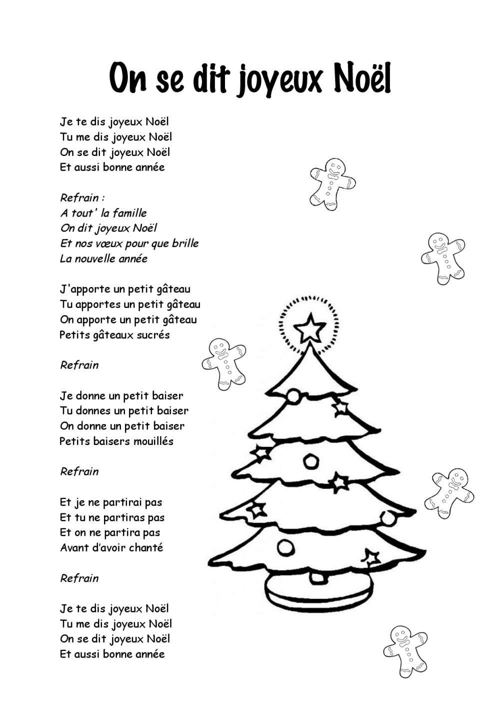 Noel Joyeux Noel Paroles Compagnie Creole.Noel Joyeux Noel Paroles Noel Joyeux Noel Paroles Image