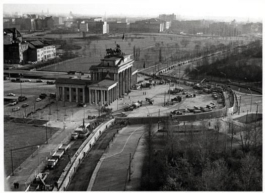 Ddr Kinder Berliner Mauer Brandenburger Tor Luftbild