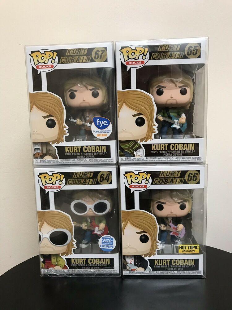 - Kurt Cobain Funko Pop Exclusive Kurt Cobain
