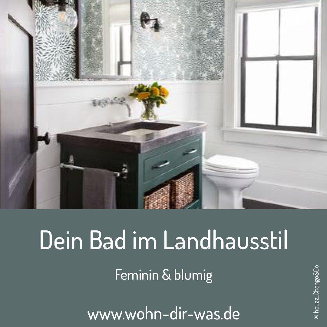 Bad Im Landhausstil Planen Und Einrichten In 2020 Landhausstil Haus Bad