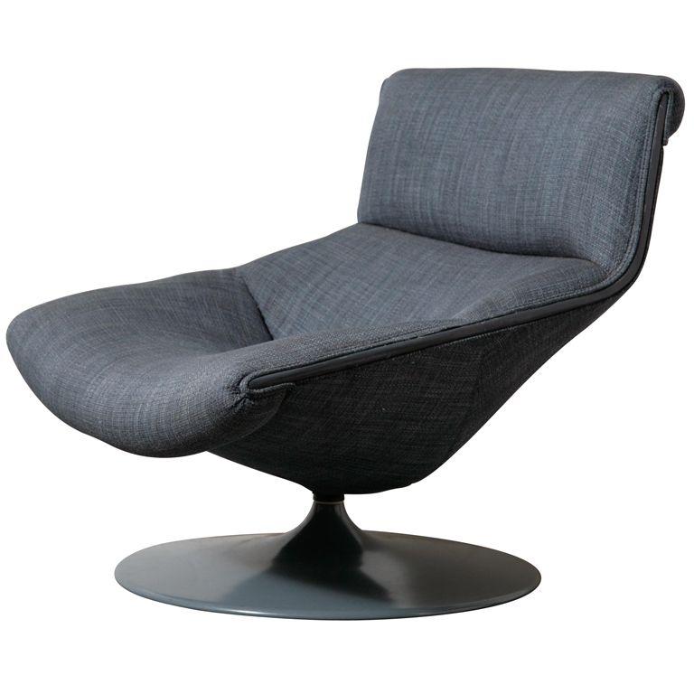 Pierre Paulin For Artifort Swivel Chair Modern Swivel Chair