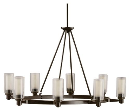 Kichler circolo 2345oz island light 25 in olde bronze kitchen island lighting