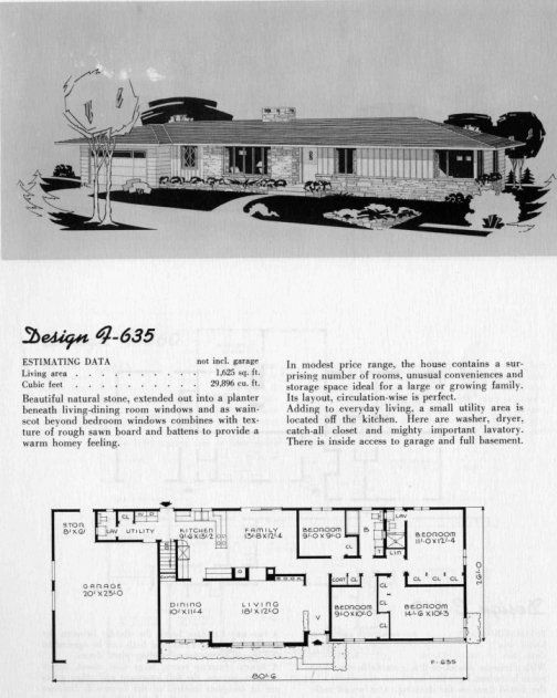 17 best images about vintage house plans--just for fun on
