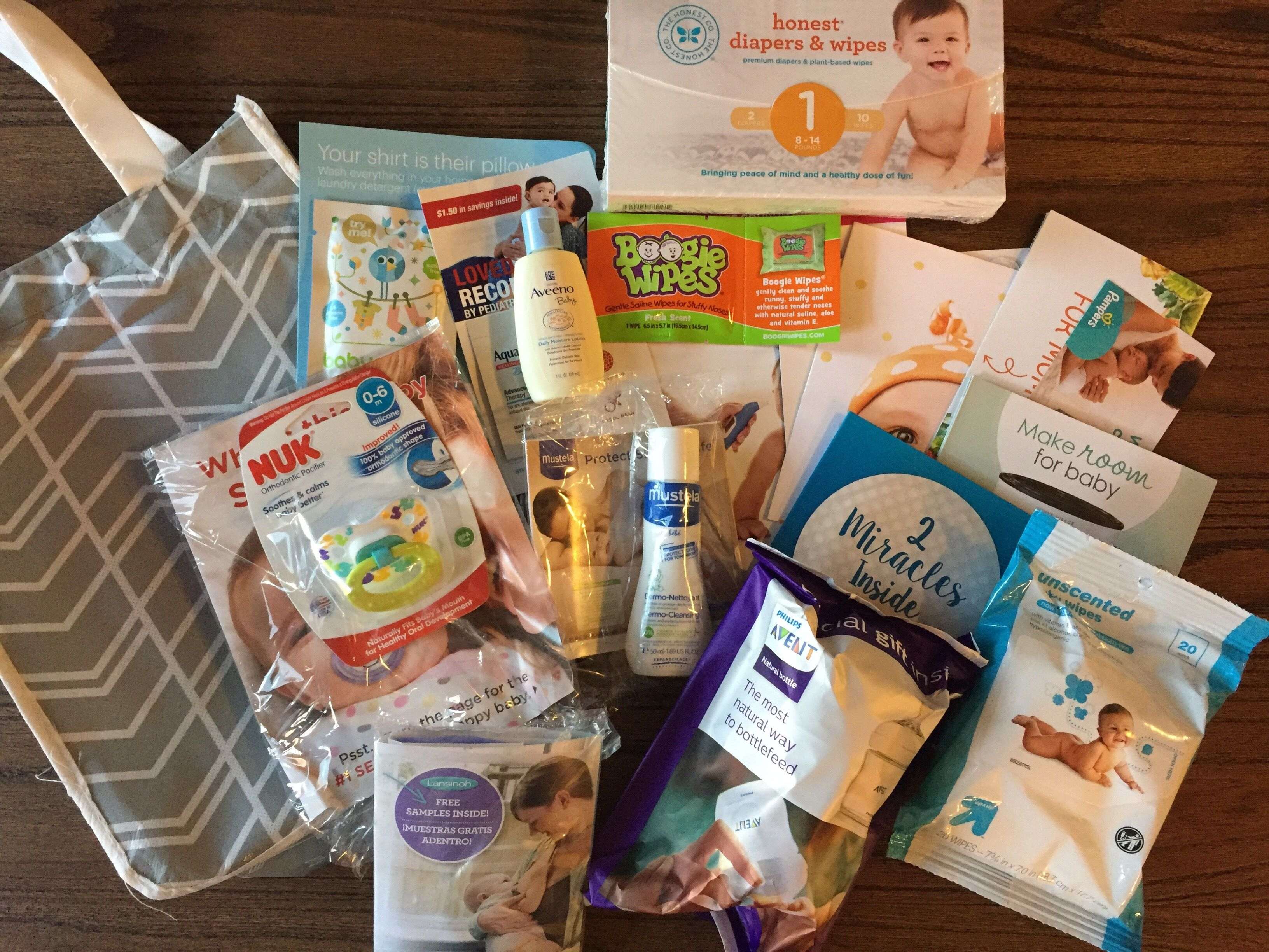 Target Registry Complimentary Gift Review Honest diapers