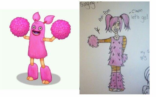 I drew the Pom Pom for @Thellamas . Hope you guys like!