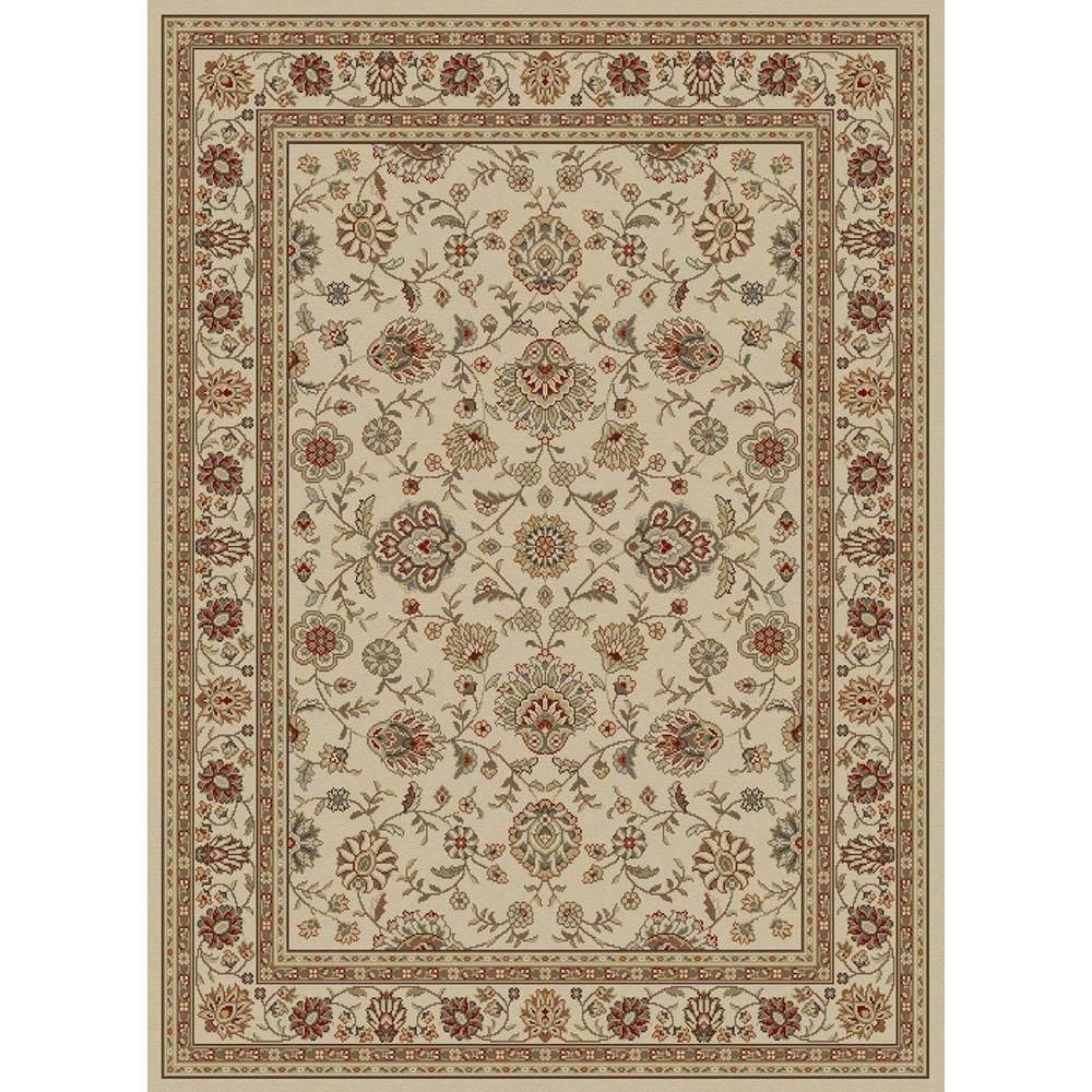 Tayse Rugs Elegance Ivory 8 Ft X 10 Ft Traditional Area