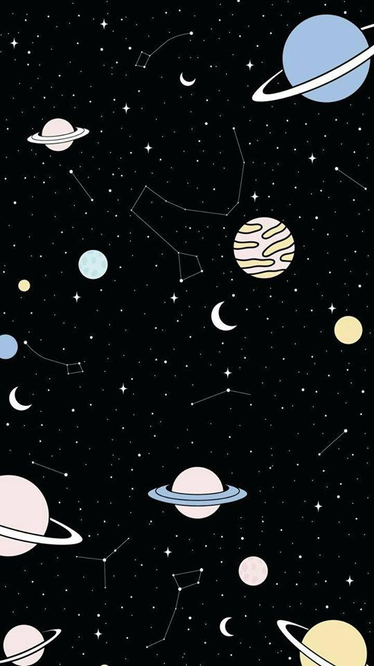 Pin By Sharee Rushing On Drawings In 2019 Space Phone Wallpaper