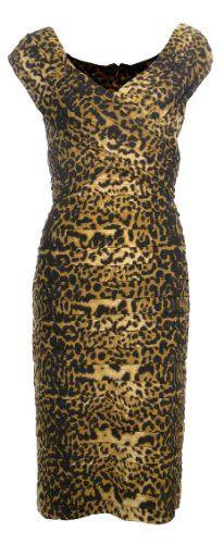 Tadashi Collection Womens Leopard V-Neck Shutter Pleat Dress Medium [Apparel] Tadashi Collection,http://www.amazon.com/dp/B006BZEXDI/ref=cm_sw_r_pi_dp_8xQTsb05NEBR13S6