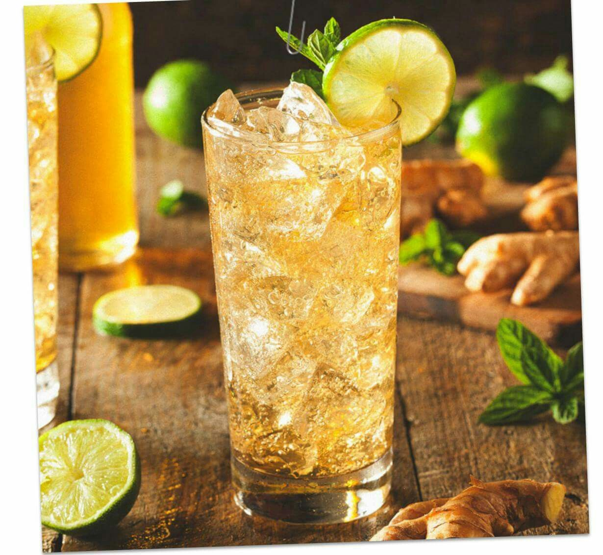 Jim Beam Honey Ginger Ale And Lime Ginger Beer Recipe Bourbon Mixed Drink Recipes Amaretto Drinks